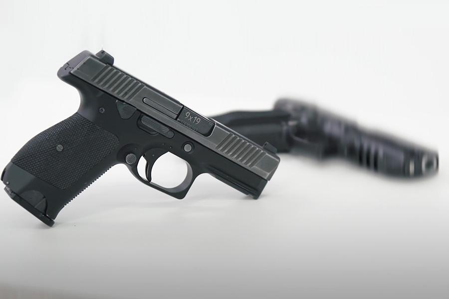 Пистолет ПЛ-15К