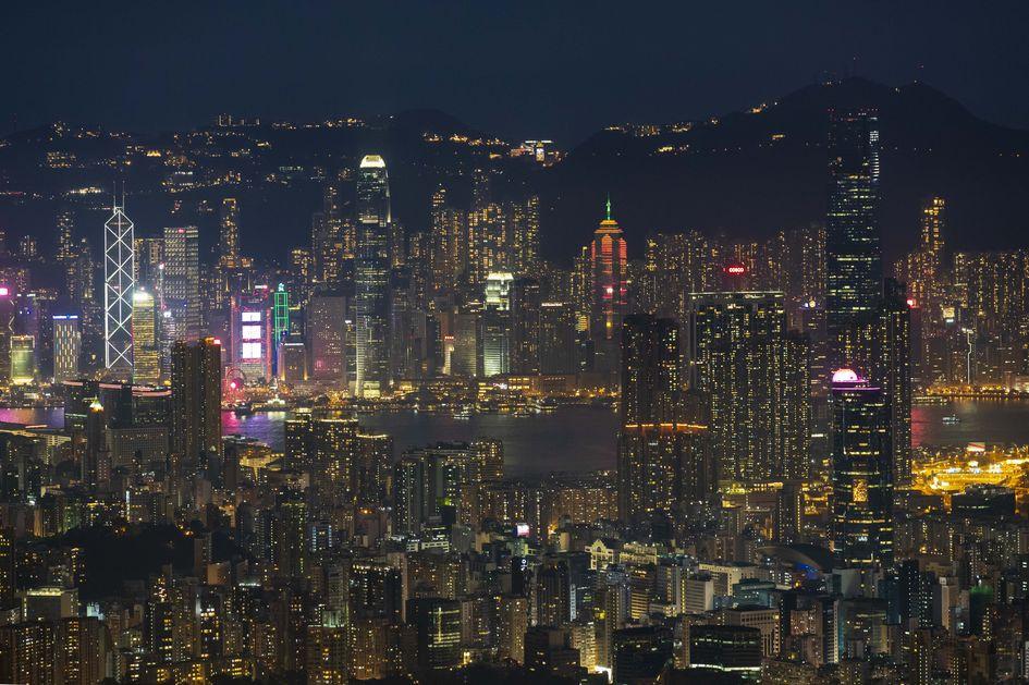 Вид на Гонконг и штаб-квартируSun Hung Kai