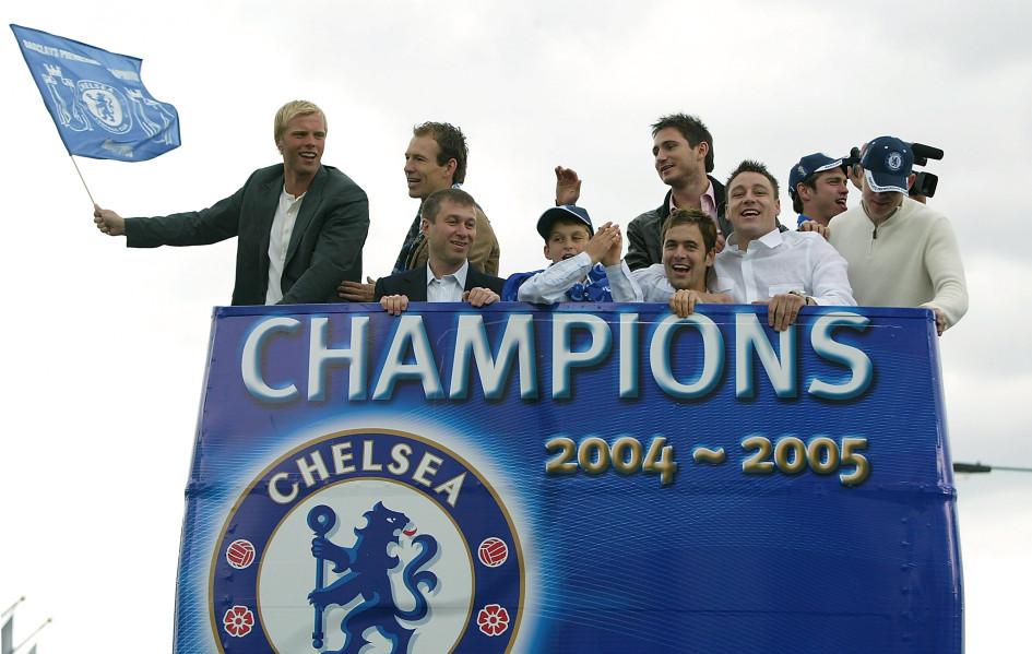 22 мая 2005. Чемпионский парад «Челси» в Лондоне