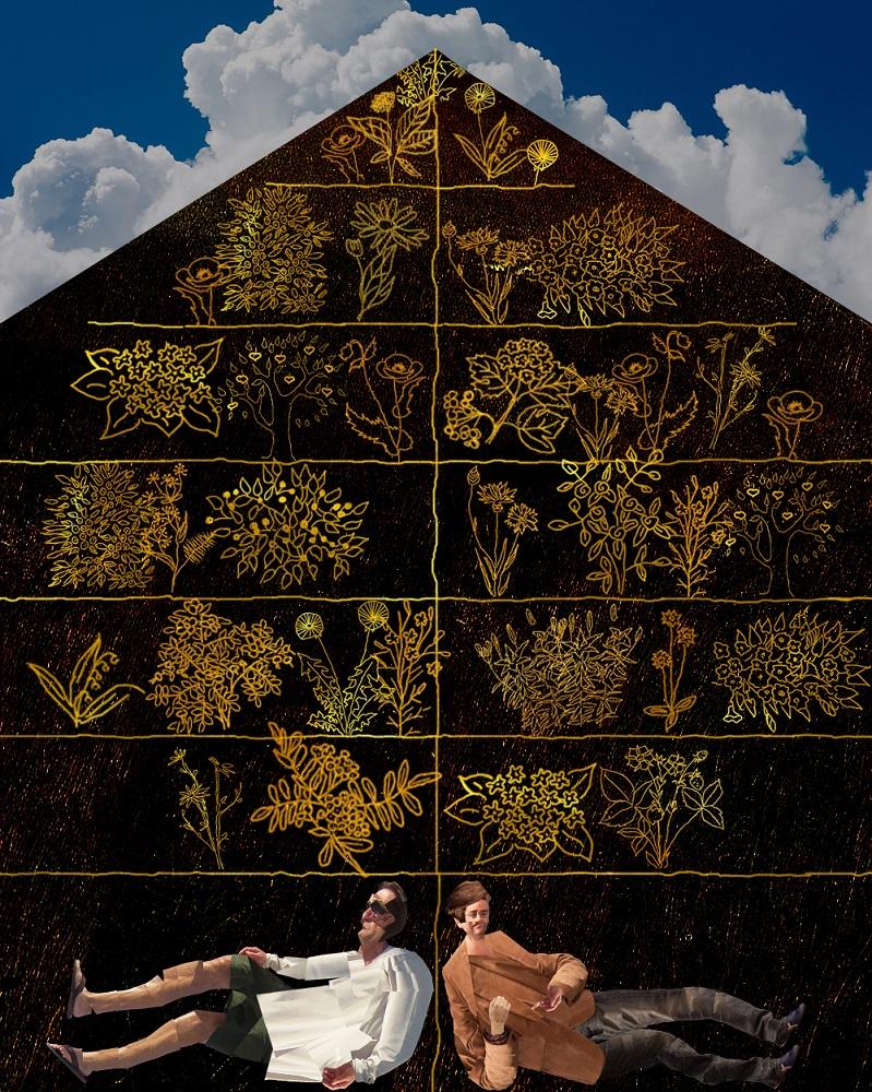 Иллюстрация проекта «Дом» от архитектурного бюро «Рождественка»