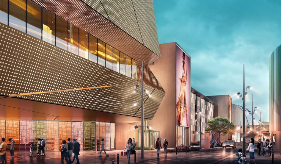 Также планируется благоустроить пространство вокруг комплекса — здесь появятся прогулочные зоны, велосипедные и пешеходные дорожки