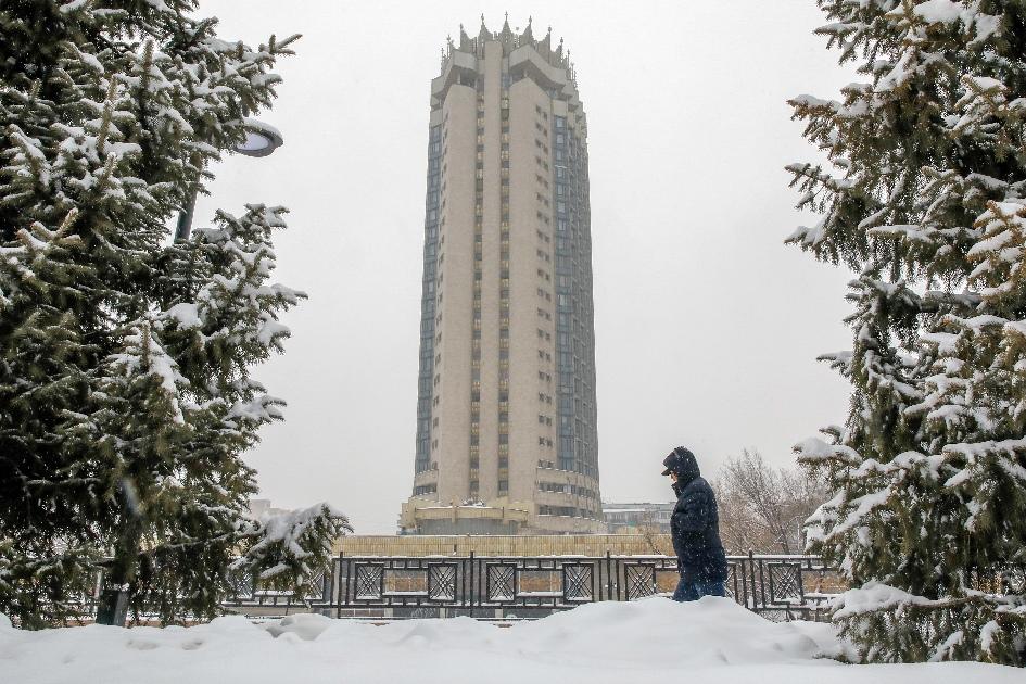 Гостиница «Казахстан» в Алма-Ате