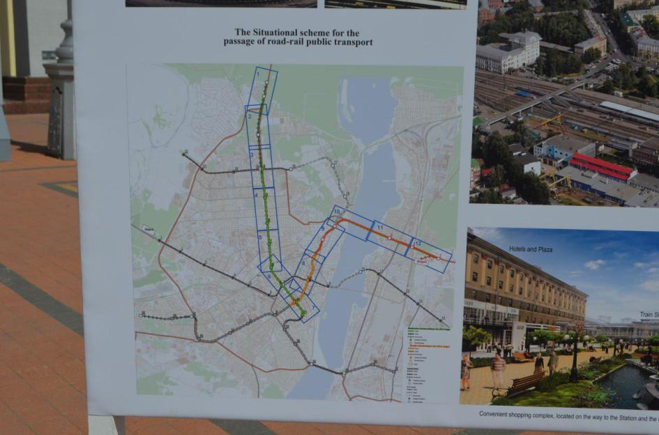 Схема линий будущего воронежского метрополитена