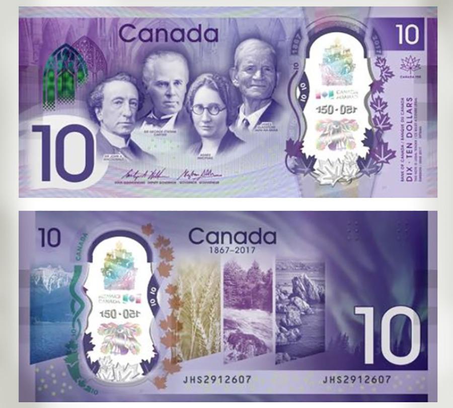 Канада, 10 долларов