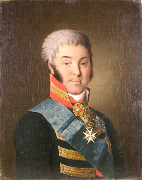 Портрет Н. П. Шереметева работы Н. И. Аргунова. 1801—1803