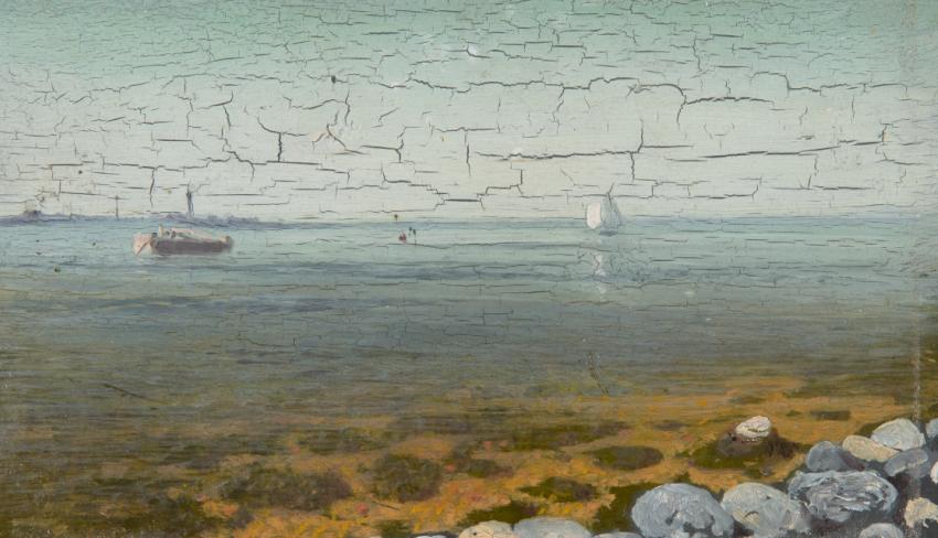 «Лодки на море. Крым», Архип Куинджи, 1876—1890