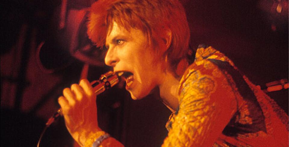 Фото: David Bowie, UK, 1972 © Mick Rock. / acurator.com