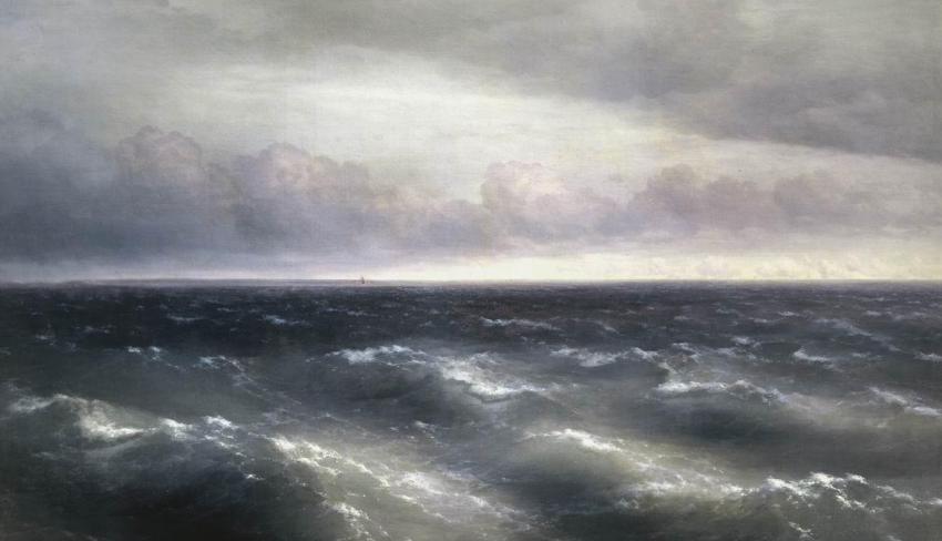 «Черное море», И. Айвазовский, 1881