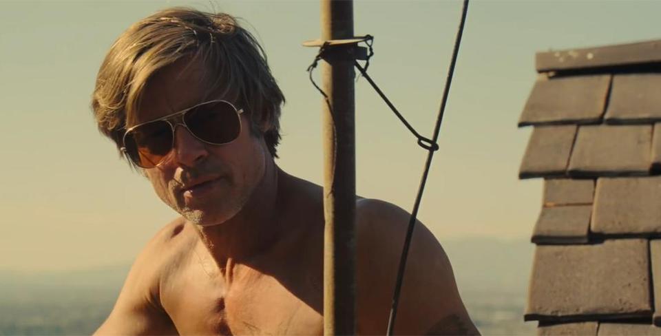 Кадр из фильма «Однажды в... Голливуде»