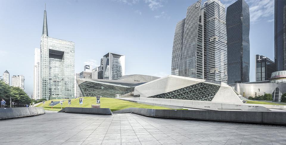 Проект Zaha Hadid Archtects в Гуанчжоу