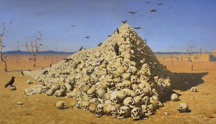 «Апофеоз войны», Василий Верещагин, 1871