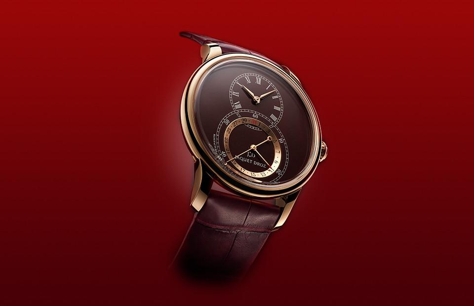 Часы Grande Seconde Quantieme,Jaquet Droz