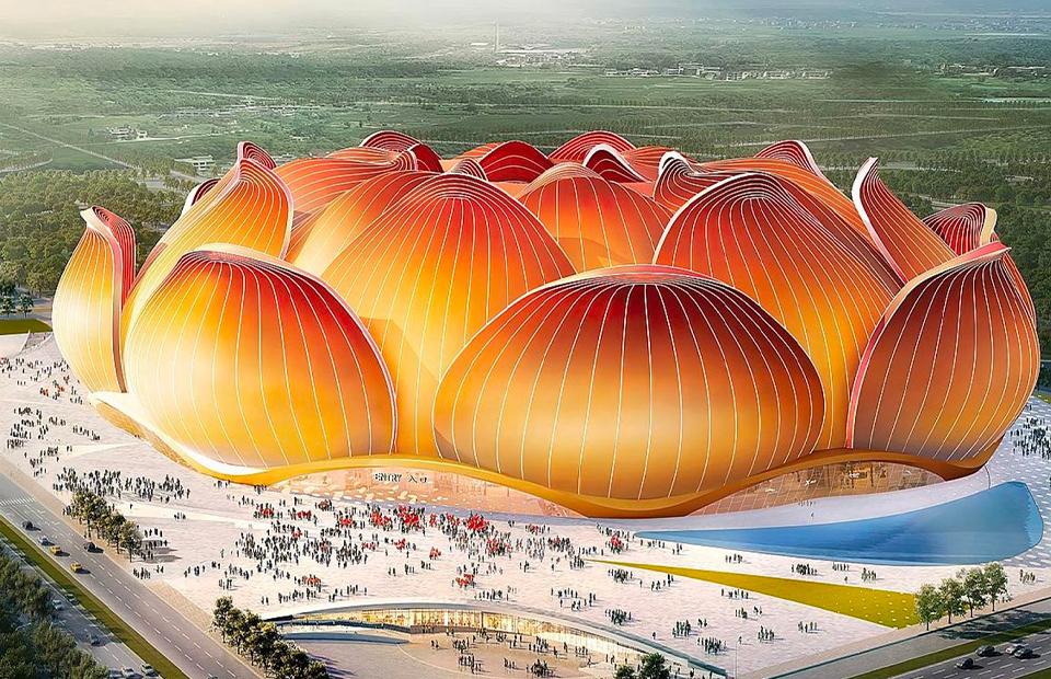 Проект стадиона футбольного клуба Guangzhou Evergrande