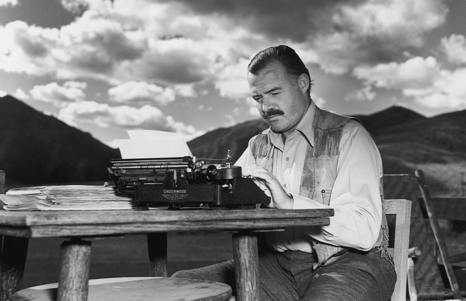 Эрнест Хемингуэй. Айдахо,1939 год