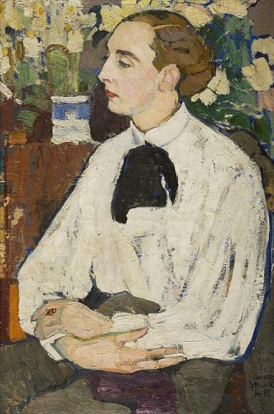 Елена Киселева. «Портрет Санди», 1910