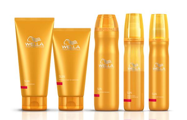 Линия Sun для ухода за волосами до и после пребывания на солнце, Wella Professionals