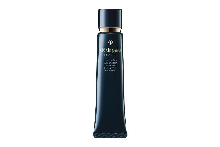 Выравнивающая база под макияж Correcting Cream Veil, Cle de Peau Beaute, корректирующая тусклый тон и несовершенства кожи, придавая ей гладкость и свежий вид
