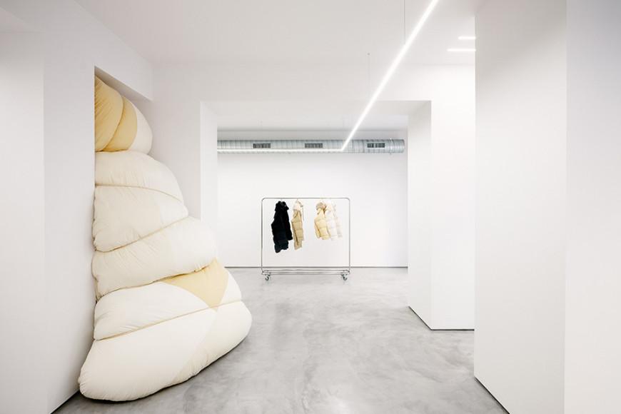 Магазин Jil Sander в Милане