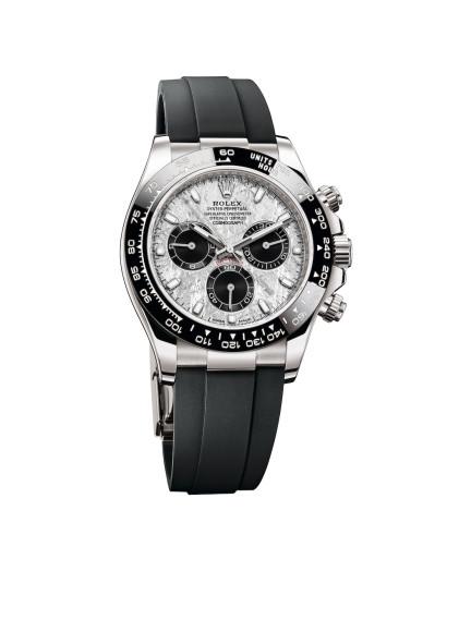 ЧасыOyster PerpetualCosmograph Daytona с циферблатом из метеорита, Rolex
