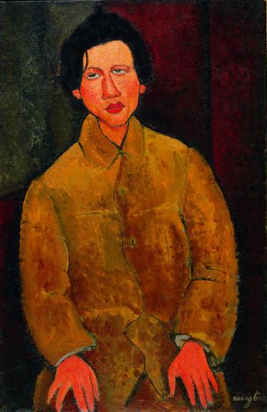Амедео Модильяни. «Портрет Хаима Сутина», 1916