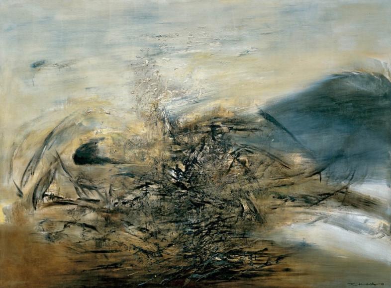 Зао Ву-Ки, Hommage à Edgar Varèse - 25.10.64, 1986