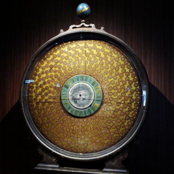 Часы «Мировое время» Андреаса Гертнера, около 1700