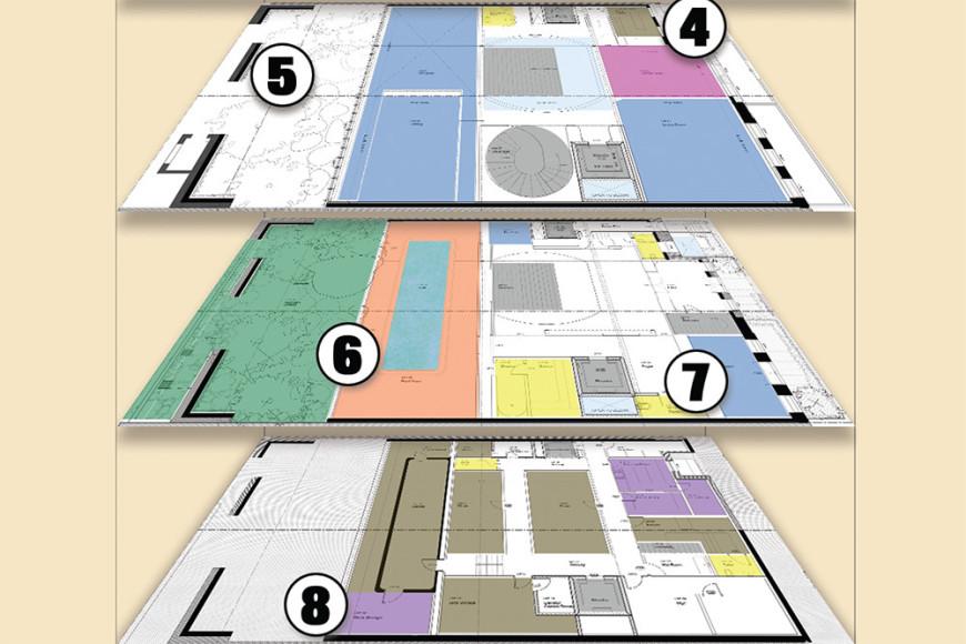 План резиденции