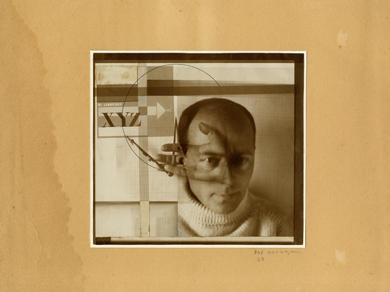 «Конструктор (автопортрет)», 1924