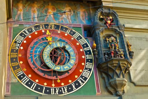 Астрономические часы на башнеЦитглогге