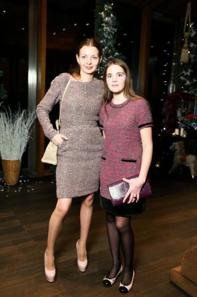 Наталья Мазурина с дочкой