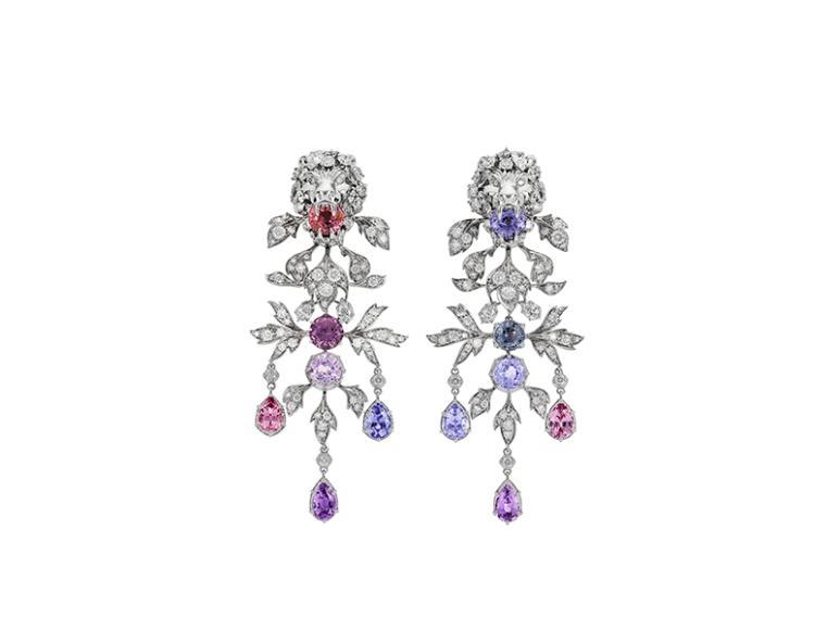 Серьги Hortus Deliciarum, Gucci High Jewelry
