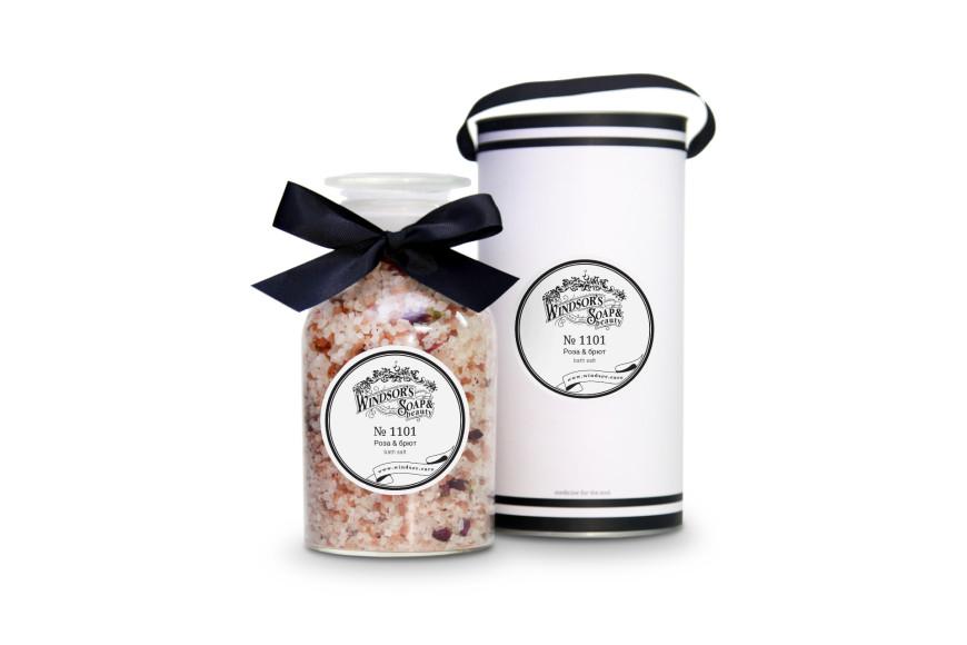 Соль для ванны Роза & брют, Windsor's Soap&Beauty