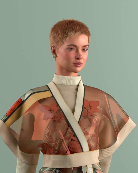 Цифровой аватар Алиона Пол