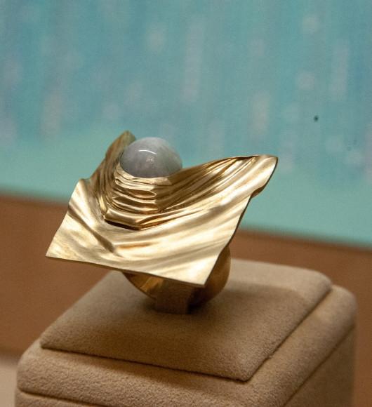 Кольцо «Шелк», дизайн Андрея Назарова