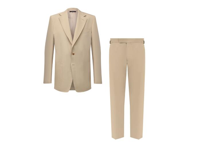 Пиджак Tom Ford, 299 500 руб., брюки Tom Ford, 83 900 руб. (Третьяковский проезд)