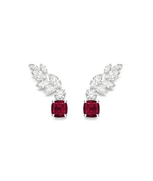 Серьги Treasures Ruby, Piaget
