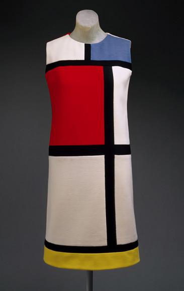 Коктейльное платье «Мондриан», Yves Saint Laurent, 1965 г.