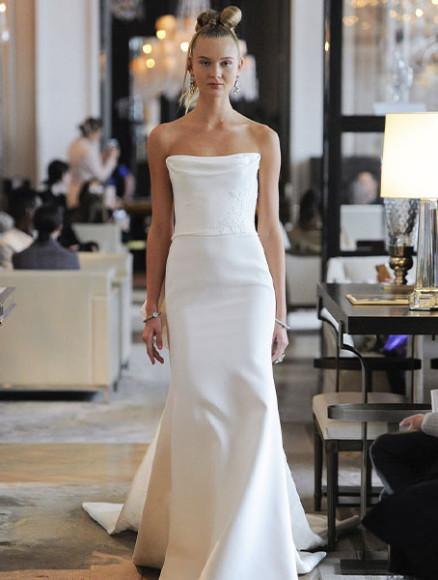 Платье Ines Di Santo, 471 500 руб. (Wedding by Mercury)