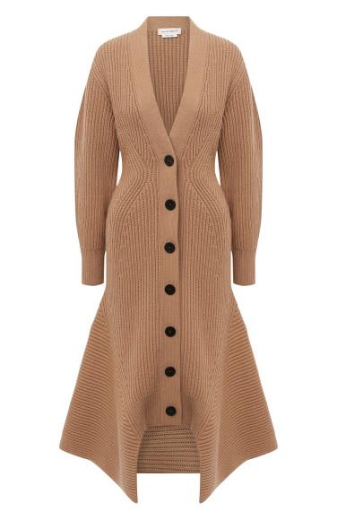 Пальто из шерсти и кашемира Alexander McQueen, 84 300 руб.