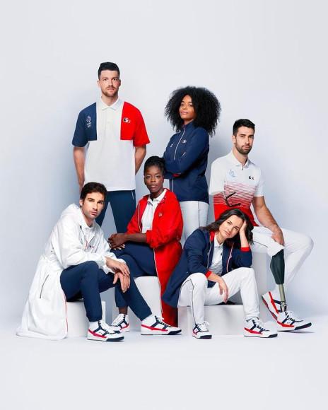 Форма Lacoste для сборной Франции
