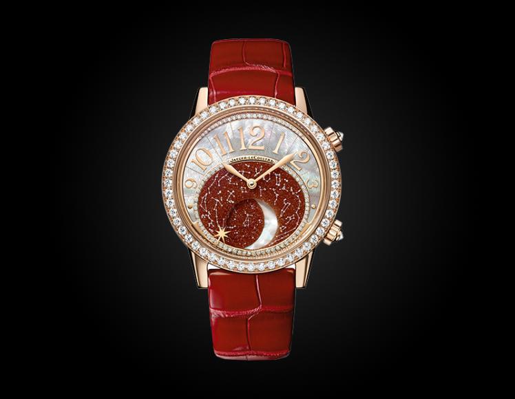 Rendez-vous Moon, Jaeger-LeCoultre, розовое золото — ₽ 3 740 000