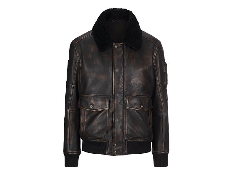 Кожаная куртка Strellson, 44350 руб. («Метрополис»)