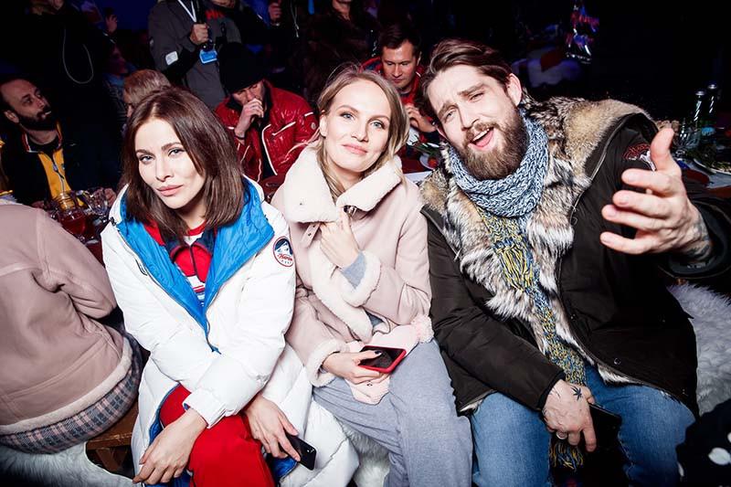 Тата Бондарчук, Маруся Фомина и Алексей Киселев