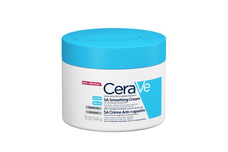 Смягчающий крем для сухой, огрубевшей и неровной кожи, CeraVe