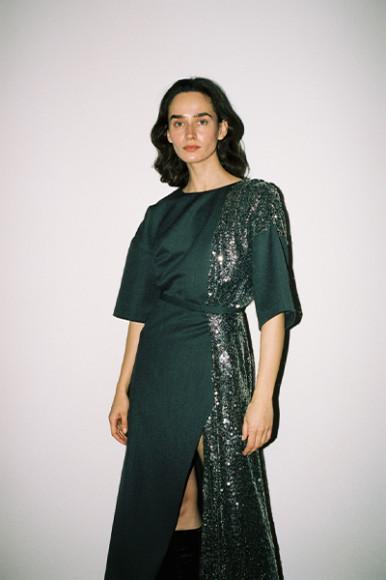 Платье WOS, 27 900 руб. с учетом скидки (wosbrand.co)