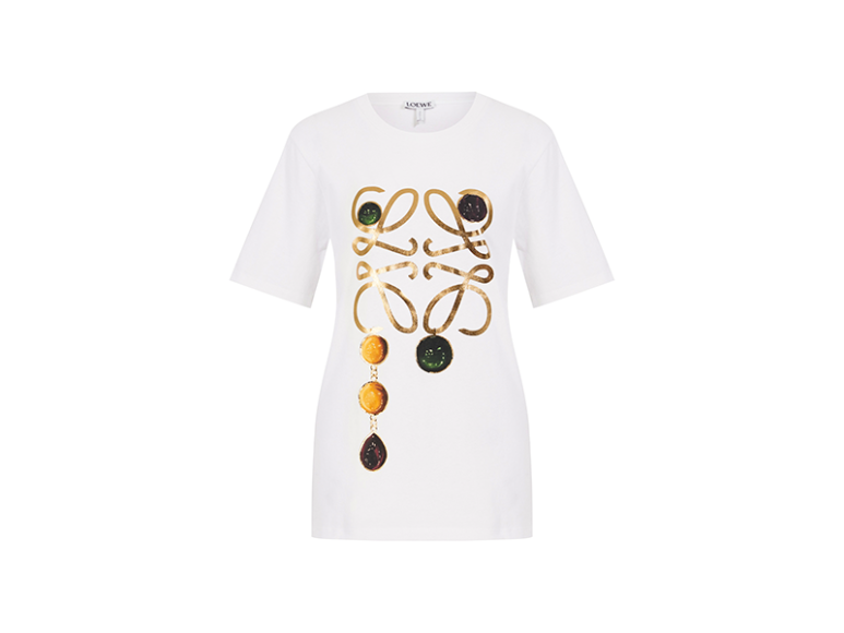 Женская футболка Loewe, 30 900 руб. (Aizel)