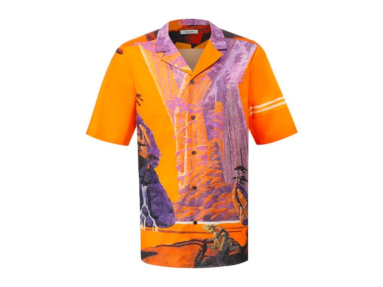 Мужская рубашка Valentino, 46 600 руб. (tsum.ru)