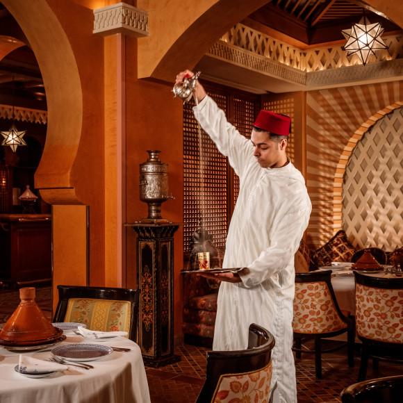 Ресторан Tagine в отеле The Palace, One&Only Royal Mirage (Дубай)