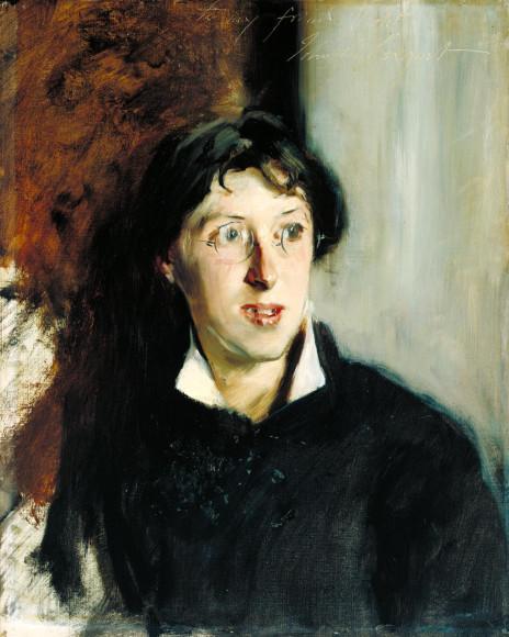 John Singer Sargent. «Vernon Lee», 1881