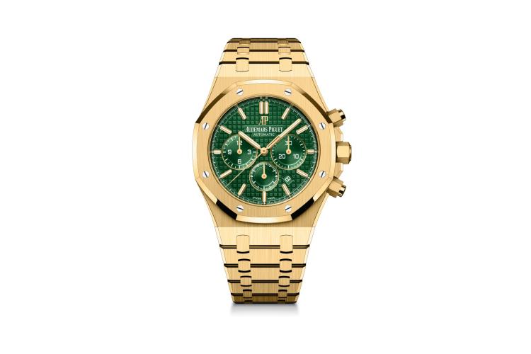 Часы Royal Oak Selfwinding Chronograph, желтое золото, Audemars Piguet